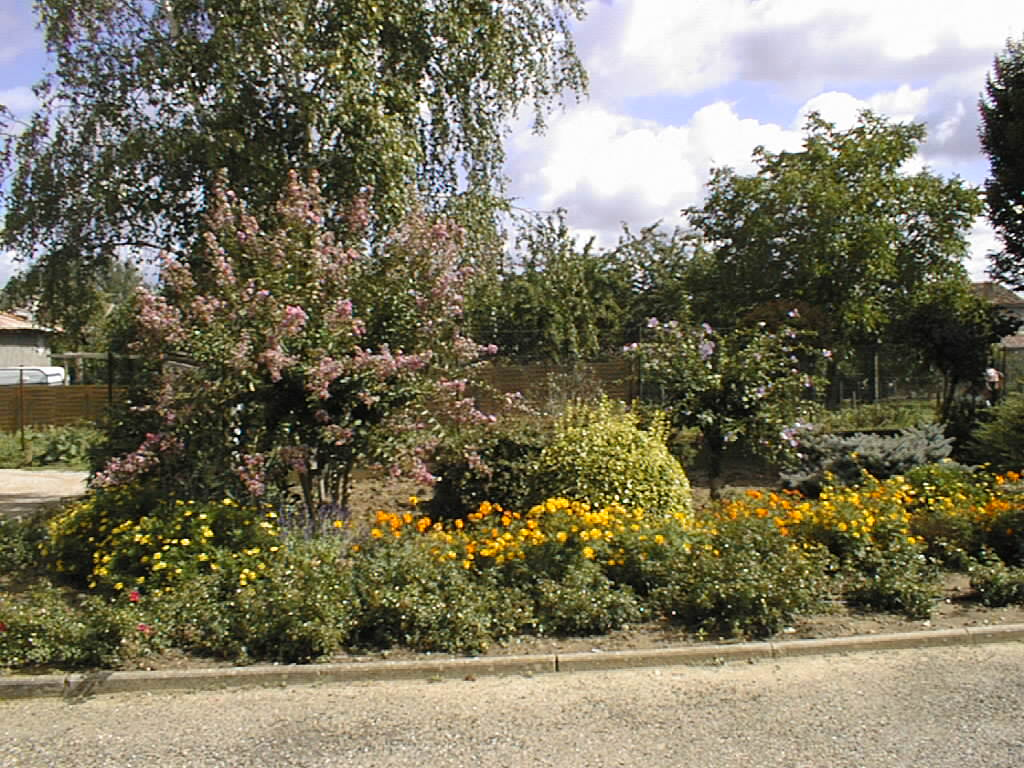 Castelferrus - espace fleuri